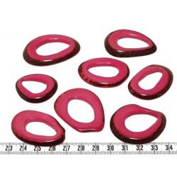 Tagua donut rose x1