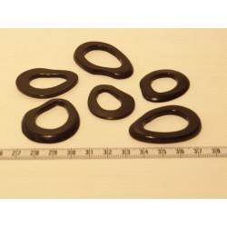 Tagua donut noir