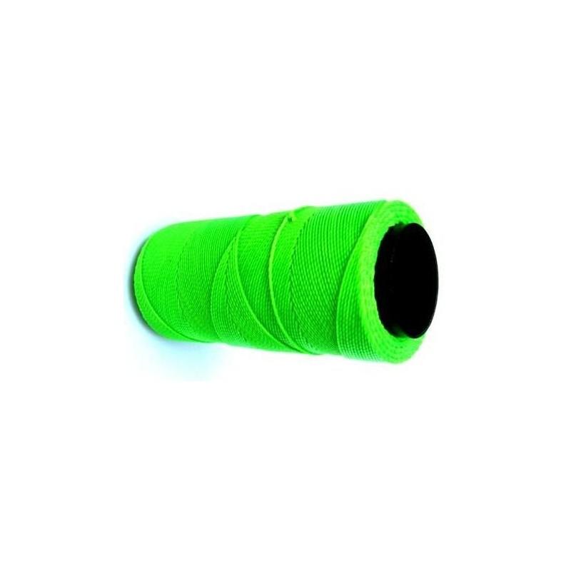 Fil polyester ciré vert 1mm x 1m