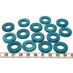 Tagua anneau bleu x1