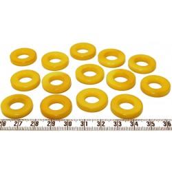 Tagua anneau jaune x1