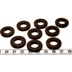 Tagua anneau noir x1
