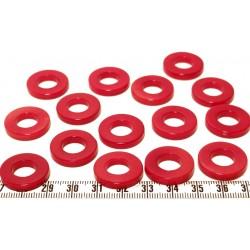 Tagua anneau rouge x1