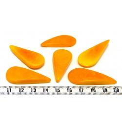 Tagua goutte orange