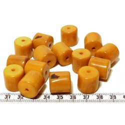 Tagua cylindre orange x1