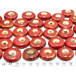 Anneau céramique rouge