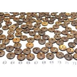 Coco anneau12mm marron