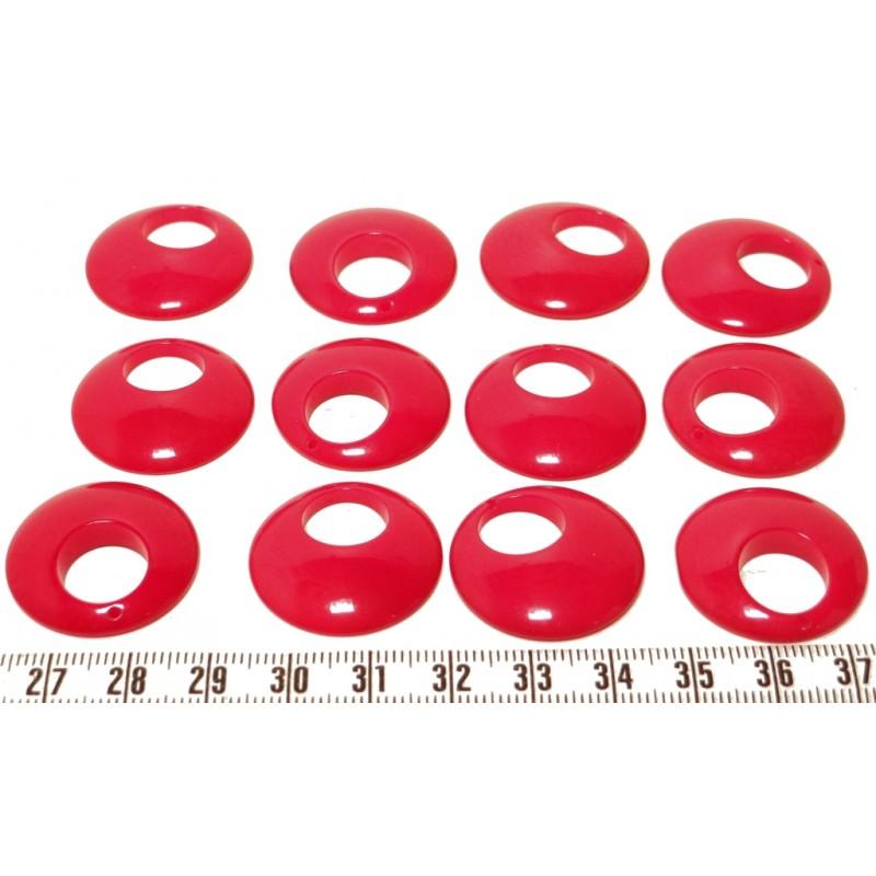 Tagua ellipse rouge x1