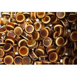 Disque céramique marron