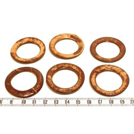 Coco anneau 45mm marron