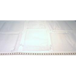 Tasche Organza 12x16cm x 1