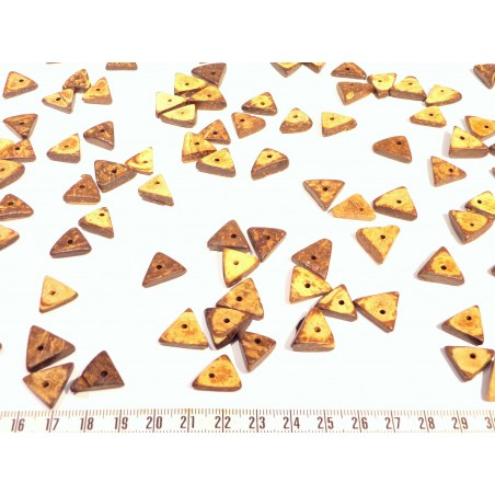 Coco anneau 07 08mm beige marron