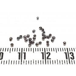 Perle à écraser 1.5 mm couleur hématite