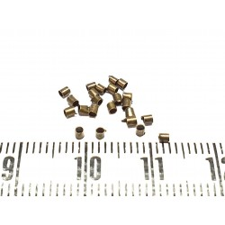 Tube à écraser 1.5 mm couleur bronze