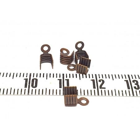 Embout 7 x 4mm à écraser cuivre