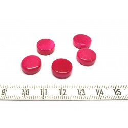Tagua Scheibe 13mm rot X 1