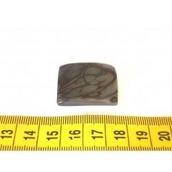 Tagua plaque  marbrée gris