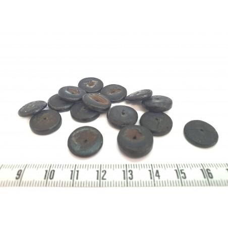 Coco disque 15mm noir