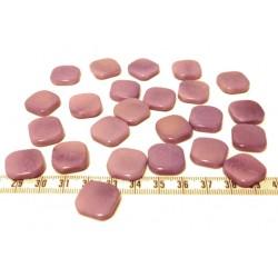 Tagua carre 15mm violet x1
