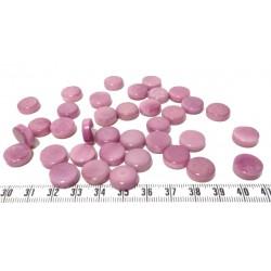 Tagua disque 13mm violet x1