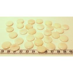 Tagua lentille 16mm blanc x1