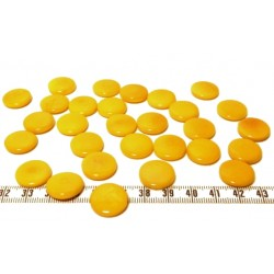 Tagua lentille 16mm jaune x1