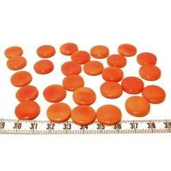 Tagua lentille 16mm orange x1