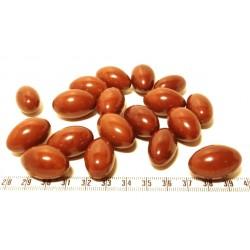 Tagua olive 15mm marron x1