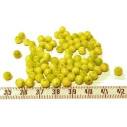 Tagua perle 5mm vert x1